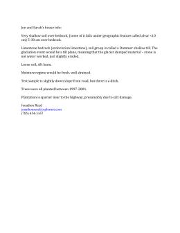 Soil Formation Worksheet]