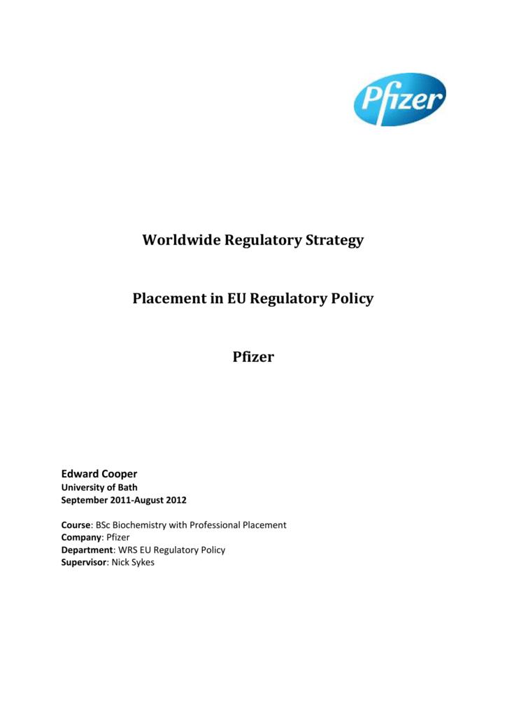 2018 financial report pfizer