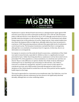 WORD - Molecular Design Research Network (MoDRN)