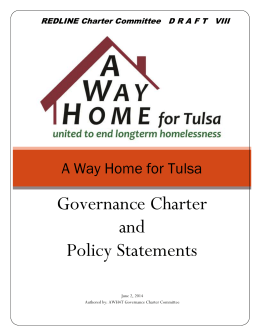 A Way Home for Tulsa - Community Service Council of Greater Tulsa