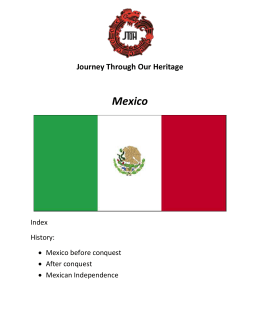Mexico Study Guide