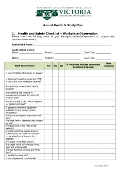 manual handling risk assessment template doc