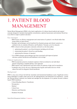 Companion 1 PBM Guidelines
