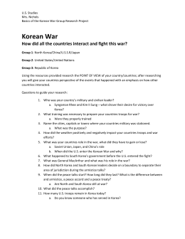 Korean War basics