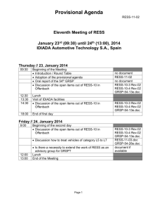Second Expert Meeting for EV safety requirements in R94/R95
