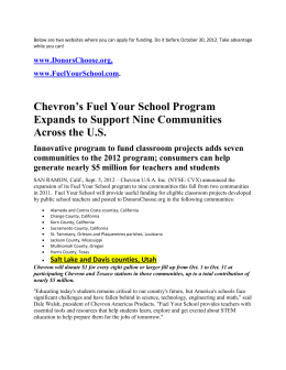 consumers can help generate nearly $5 million for teachers and