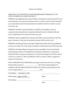 Ordinance No. 01222015