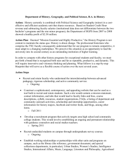 Lesson Plan Format Full TSU PROFESSIONAL EDUCATION UNIT - History lesson plan template