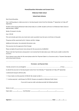 Parent/Guardian Information and Consent Form Wideview Public