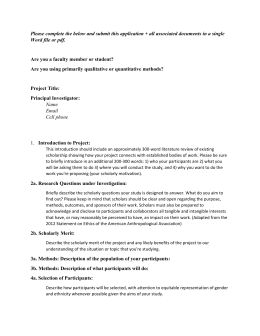 Qualitative methods protocol template with for Qualitative research interview protocol template