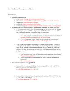 Unit 8 Test Review Answers