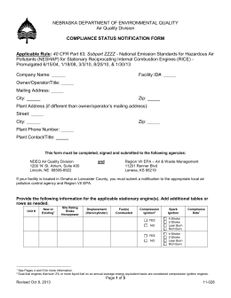 compliance status notification form