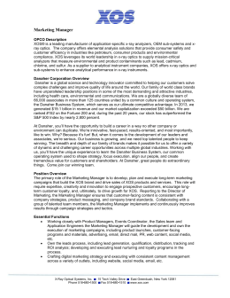 danaher corporation case analysis These materials have been provided to you by fortuna advisors llc in connection with an actual or potential mandate or engagement and may not be used or relied upon.