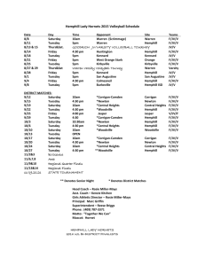 2015 Volleyball Schedules-REVISED
