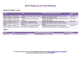my revision notes edexcel b gcse schools history project thorne sally hartley dan