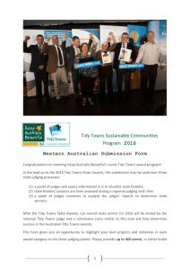the submission form - Keep Australia Beautiful WA