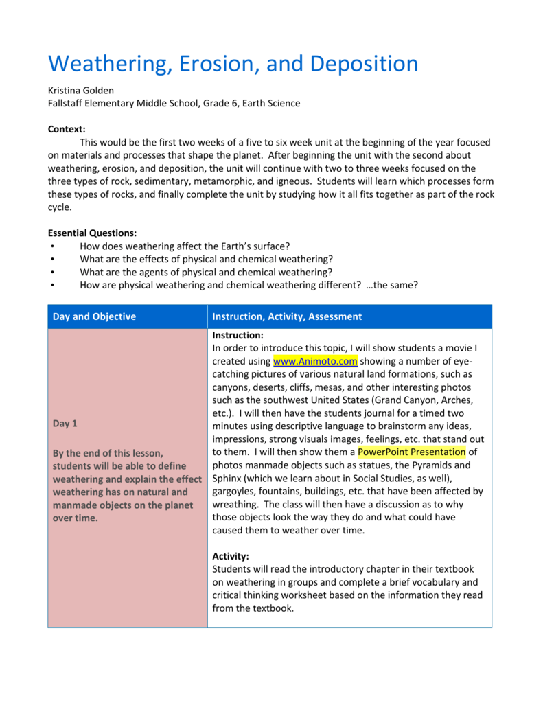 worksheet. Weathering Erosion And Deposition Worksheets. Grass ...