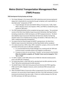 TMP Process and Components