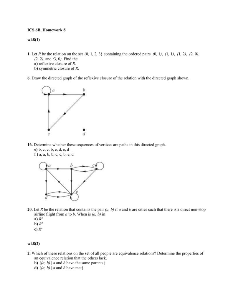 ics 6b homework 8