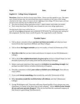 essay guide acronym statement evidence explanation