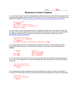 Momentum In-Class Problems