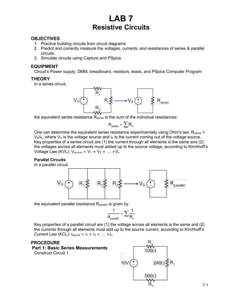 Lab 7 Circuit Diagram Practice