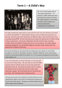 Newsletter Y6 T1 - St Marys Primary School Ashford