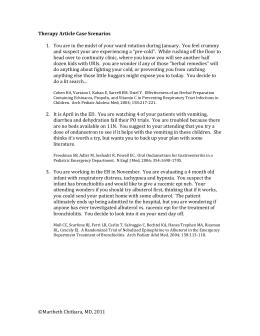 Rsv case study