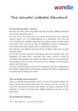 Our Lettable Standard