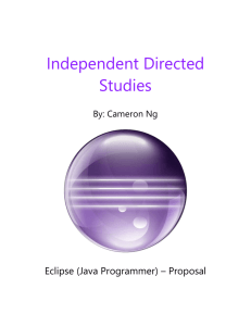 Independent Directed Studies