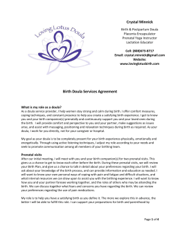 Doula Contract - lovinglotusbirth.com