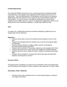 Purpose/Opportunity Statement document