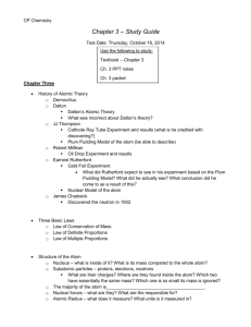 Ch. 3 – Test Study Guide