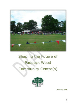 HERE - Paddock Wood Town Council