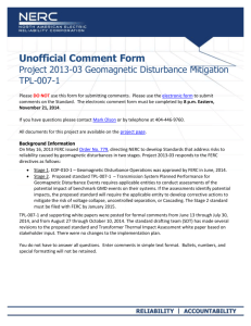 Unofficial Comment Form