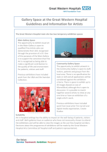 Guidelines and Information for Artists