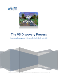 The V3 Discovery Process