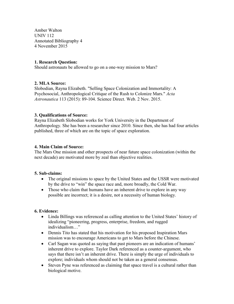 space race research paper
