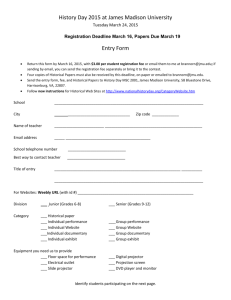 Printable Registration Form
