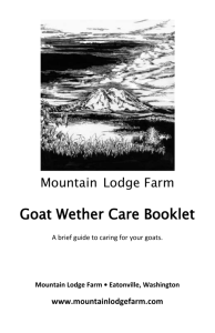 wethercareguide2012 - Mountain Lodge Farm
