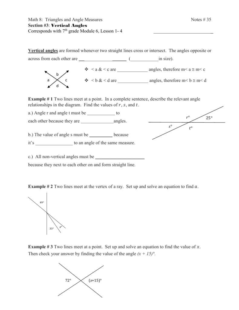 lesson 35 notes