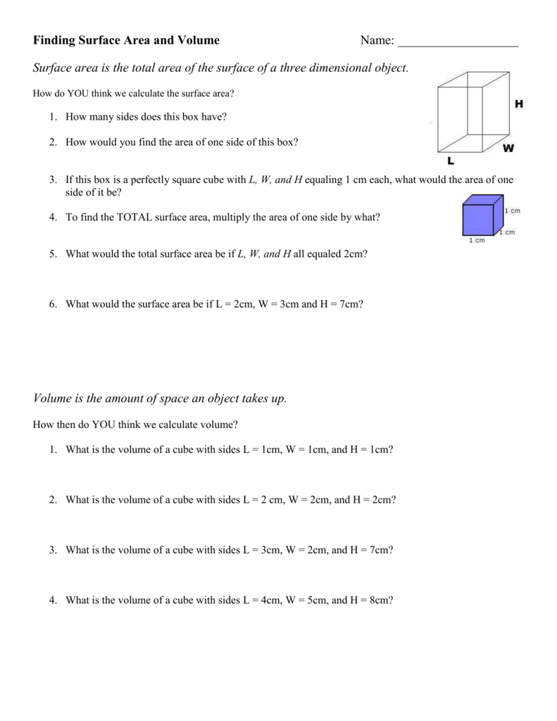 To Know How 142 Find The Length Of A Cube Given Surface Area Surface