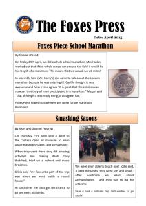 Issue 4 (May 2015) - Foxes Piece School