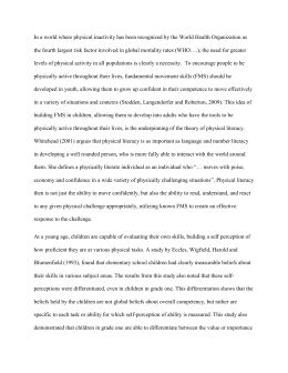 Literature review first draft-Mark Donald