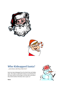 Who Kidnapped Santa?