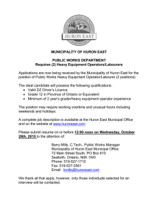PW Heavy Equipment Operator [Read More]
