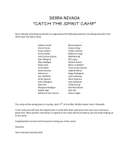 2014 Catch The Spirit Roster