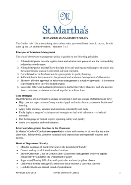 St.Martha`s Senior School