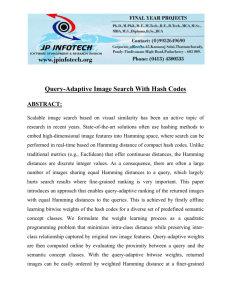 """Query-Adaptive Image Search with Hash Codes"", IEEE"