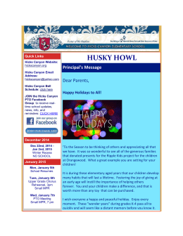 Husky Howl Dec. 26th, 2014